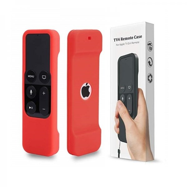 Apple TV Remote Cover Red