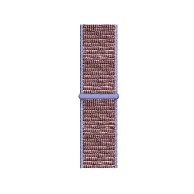 Sporty Mix Woven Nylon Apple Watch Band - Lilac