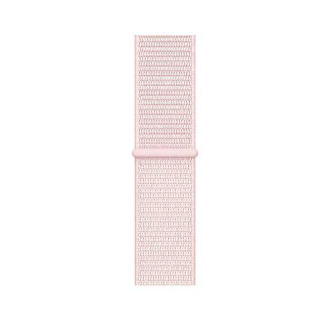 Woven Nylon Apple Watch Band - Pearl Pink